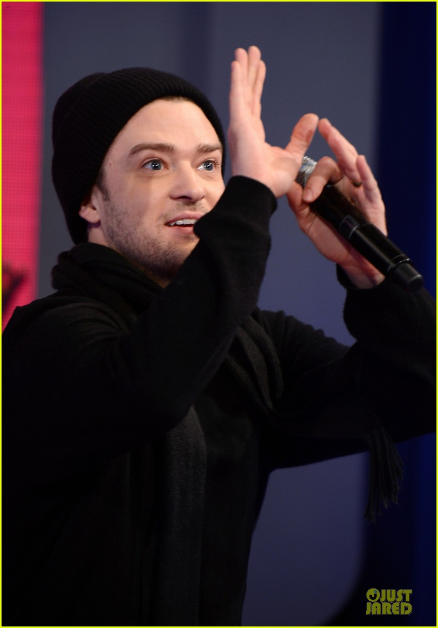 justin timberlake record release party airs on cw next week 222830882