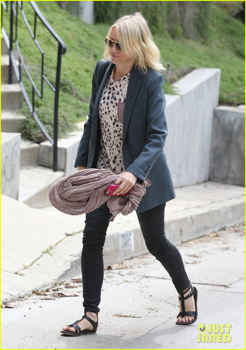 naomi watts liev schreiber separate sunny outings 10