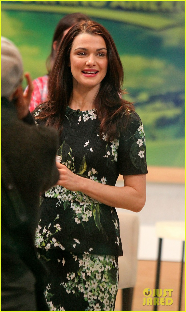 rachel weisz good morning america appearance 10