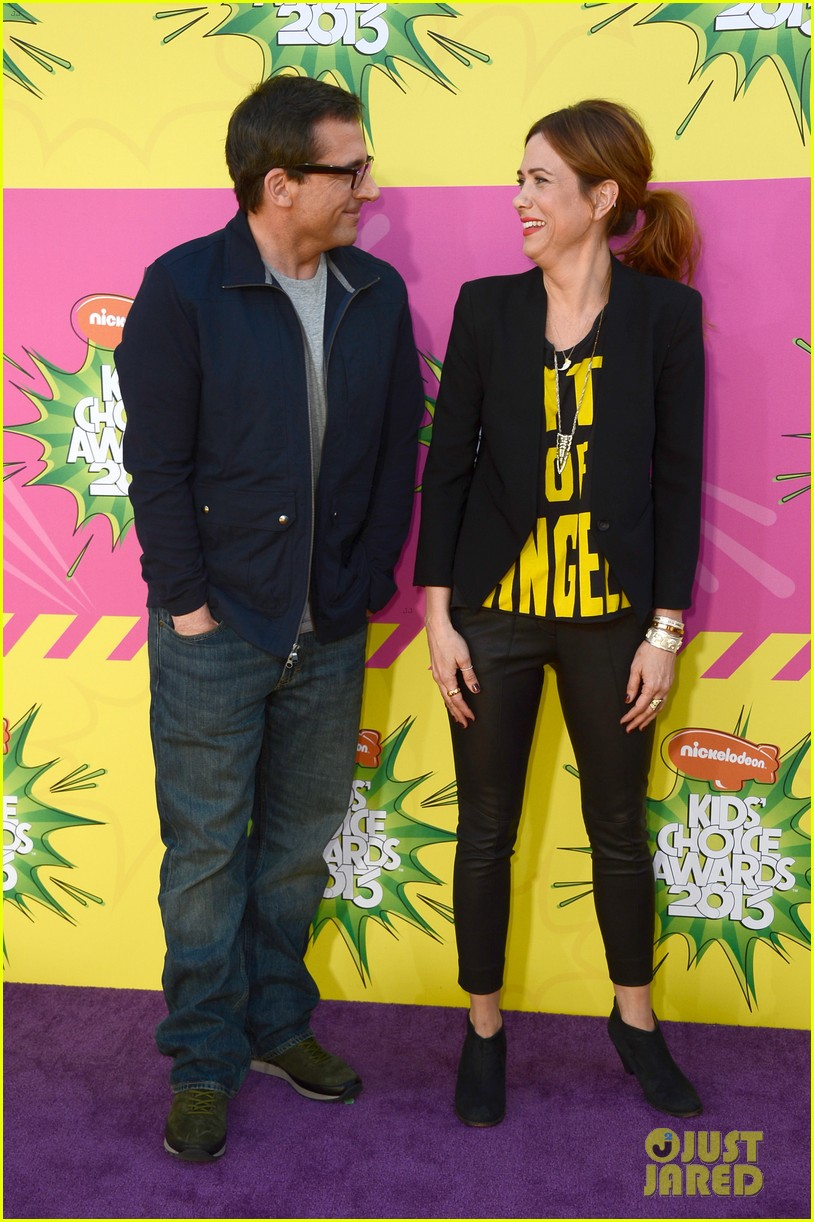 kristen wiig steve carell kids choice awards 2013 11
