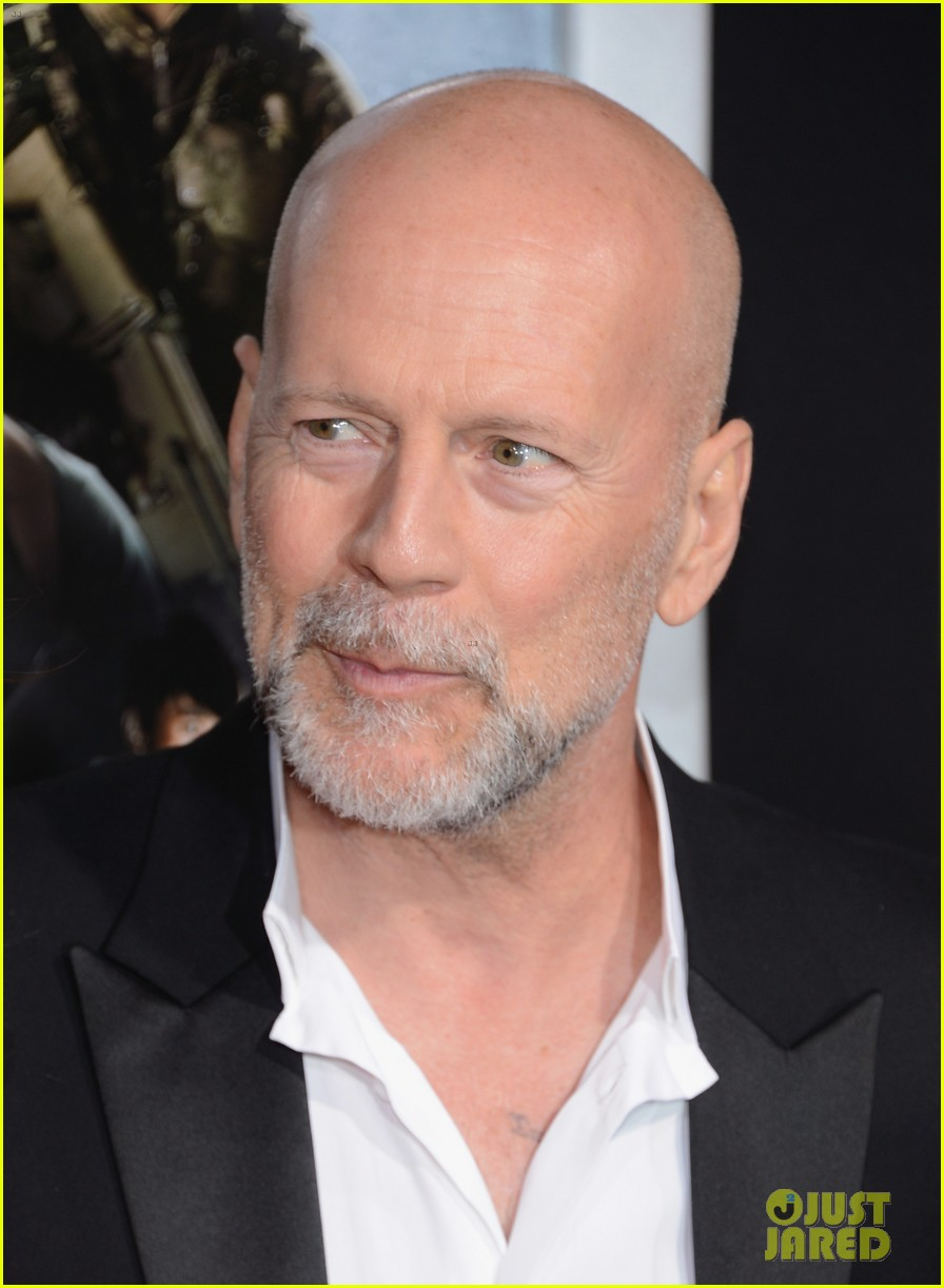 Bruce Willis: 'G.I. Joe' Premiere with Rumer & Jayson Blair!: Photo ... Bruce Willis