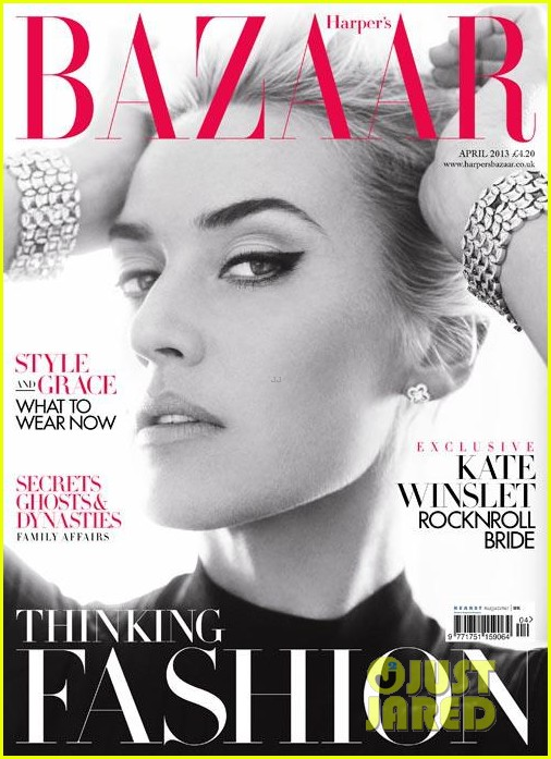 kate winslet covers harpers bazaar uk april 2013 01