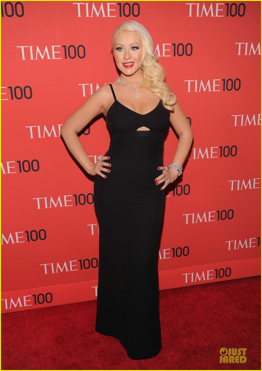 christina aguilera miguel time 100 gala 2013 red carpet 10
