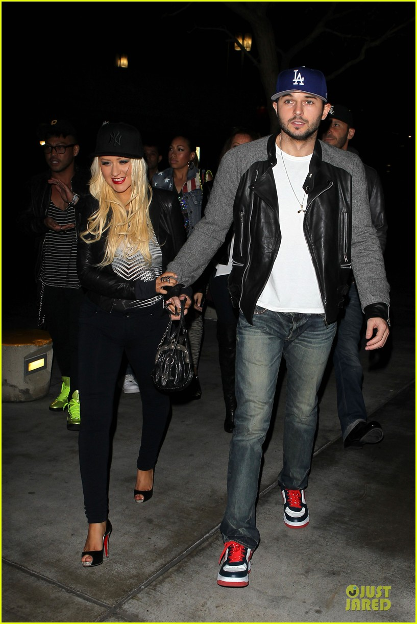 christina aguilera matthew rutler rihanna diamond world tour date 102846011