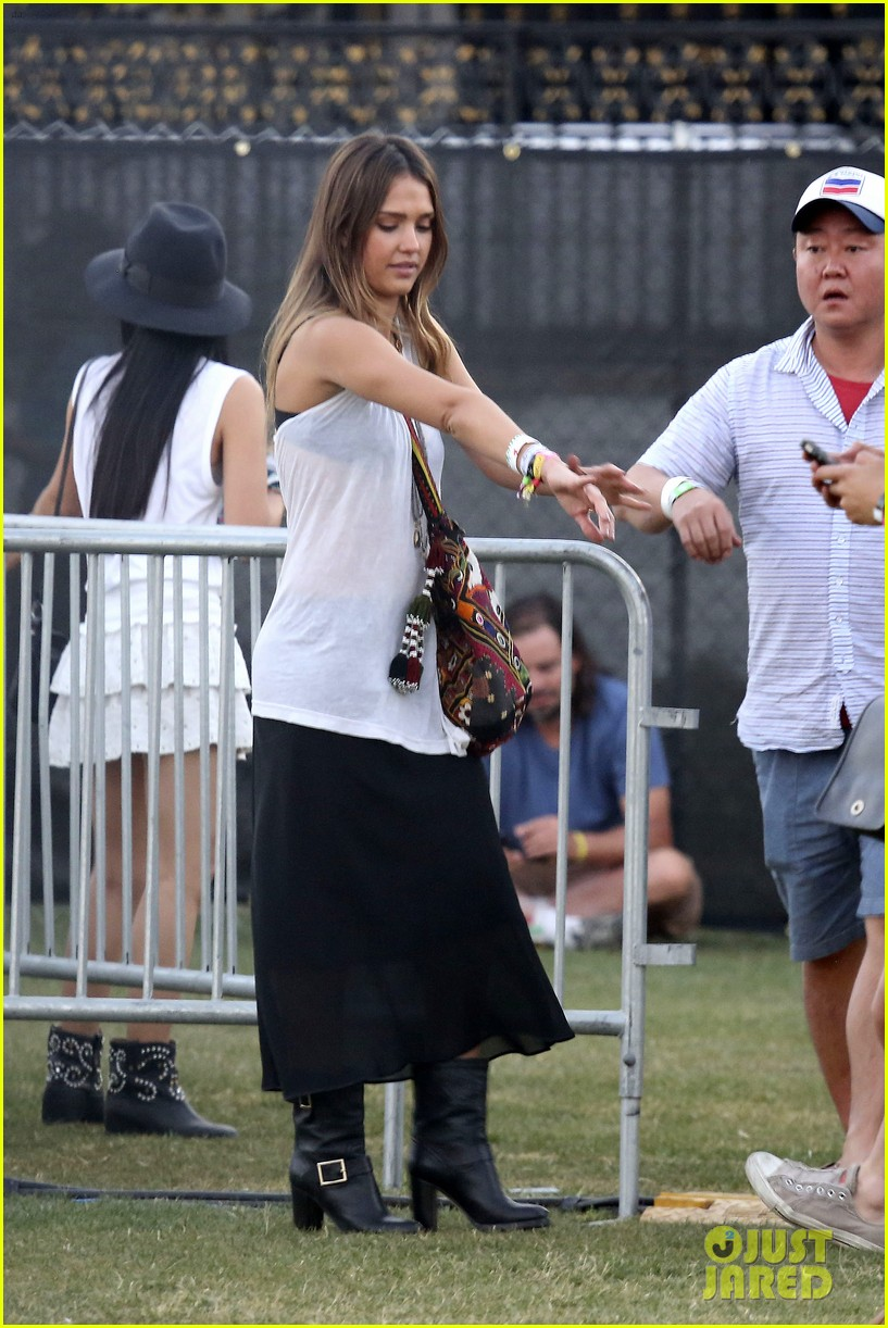 jessica alba cash warren coachella couple 172853978
