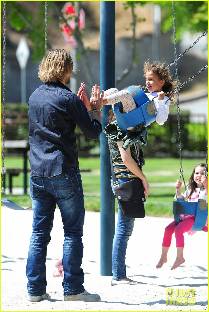gabriel aubry park playtime with nahla 142858348