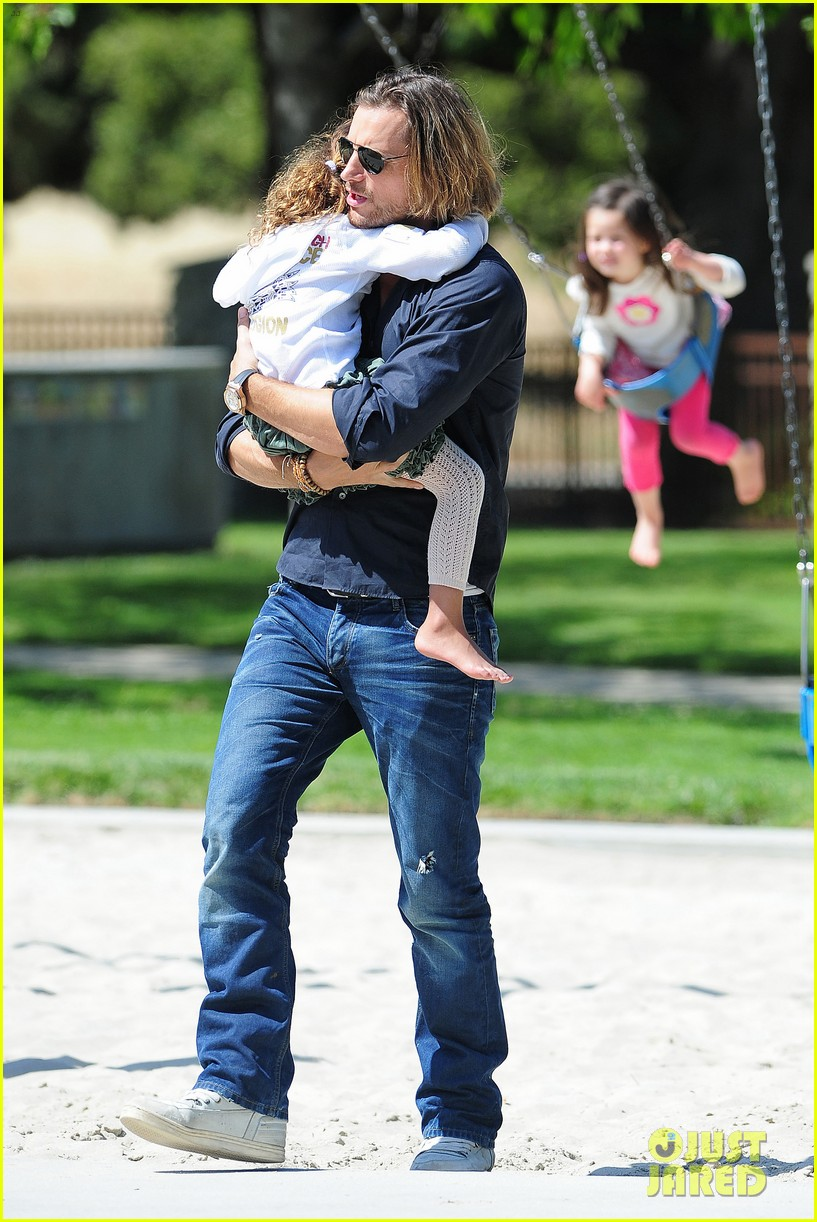 gabriel aubry park playtime with nahla 16