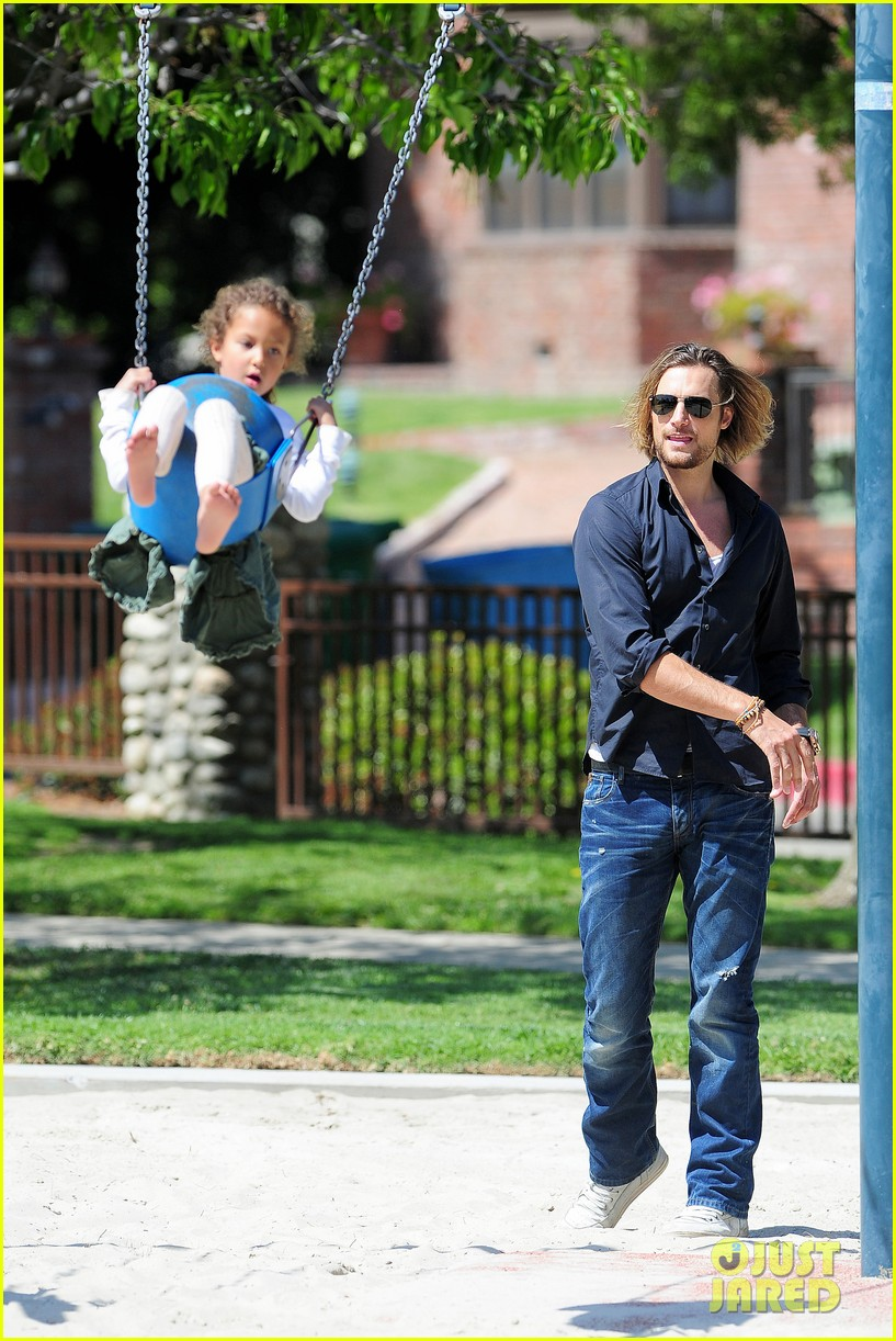 gabriel aubry park playtime with nahla 26