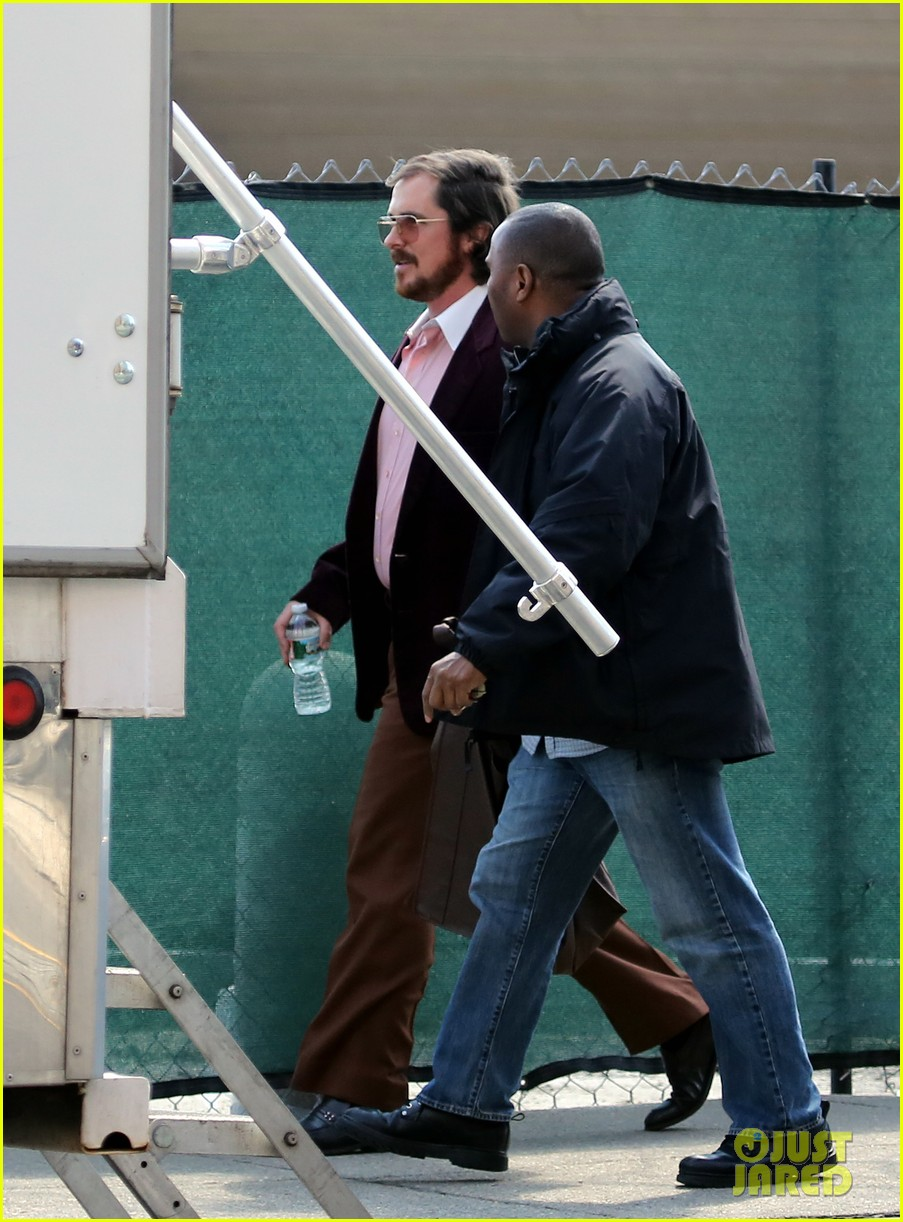 christian bale amy adams lunch break on set 012842027
