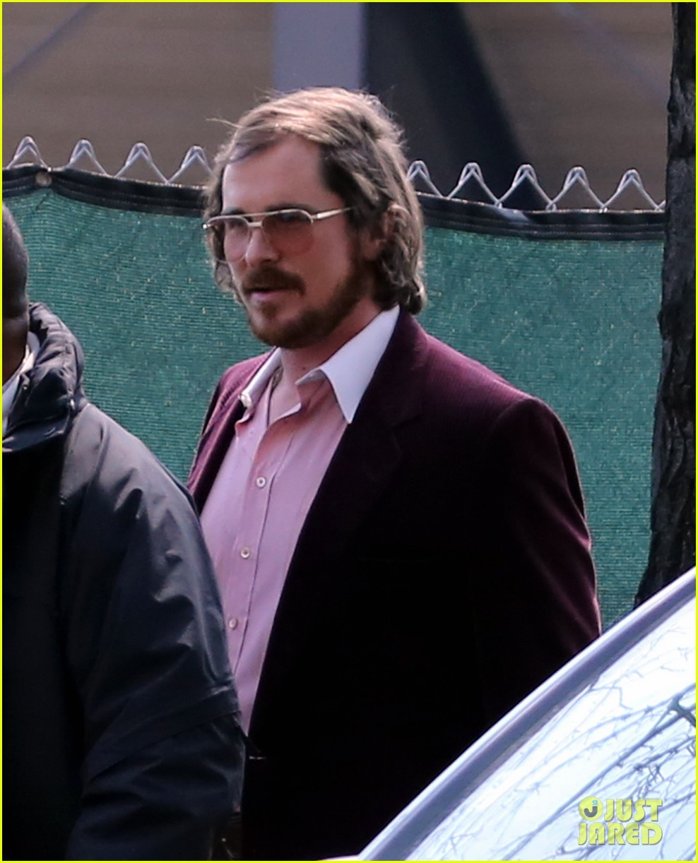christian bale amy adams lunch break on set 072842033