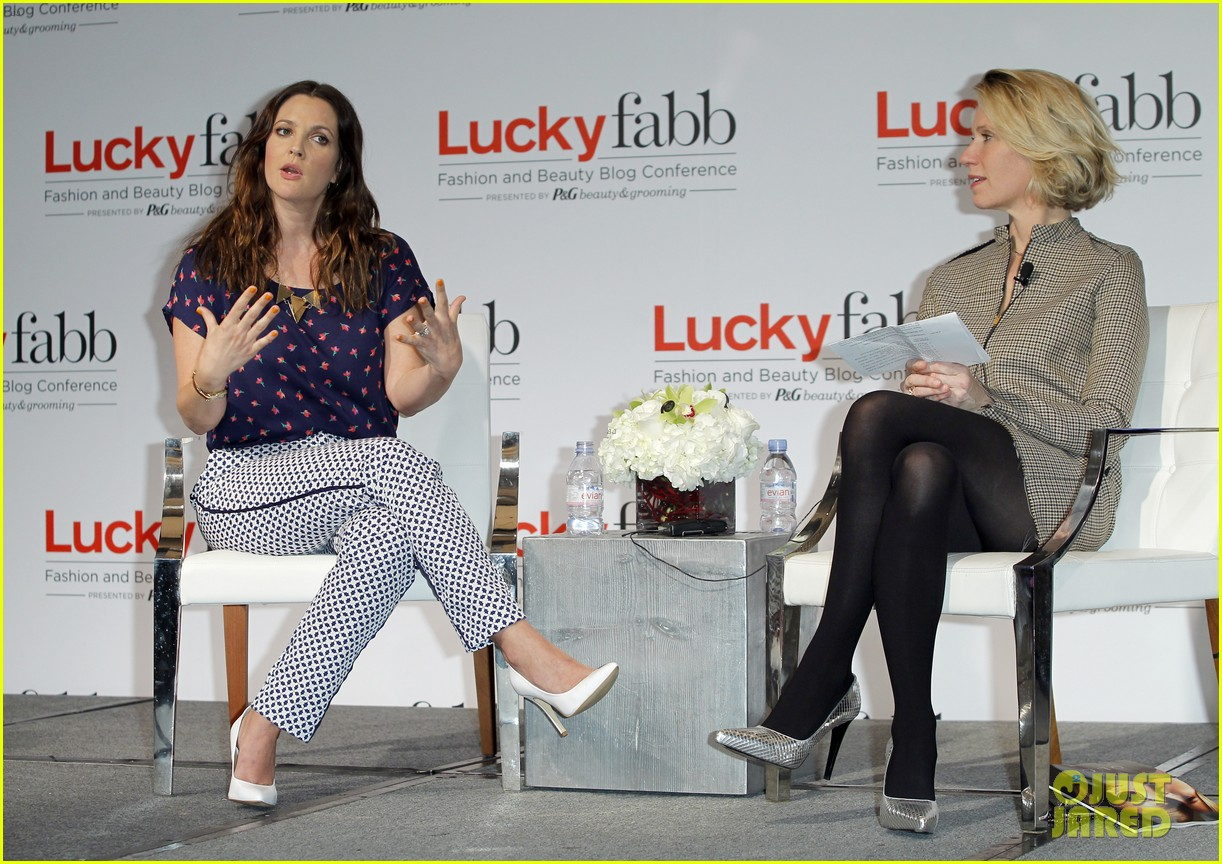 drew barrymore julianne hough luckyfabb event 142843549