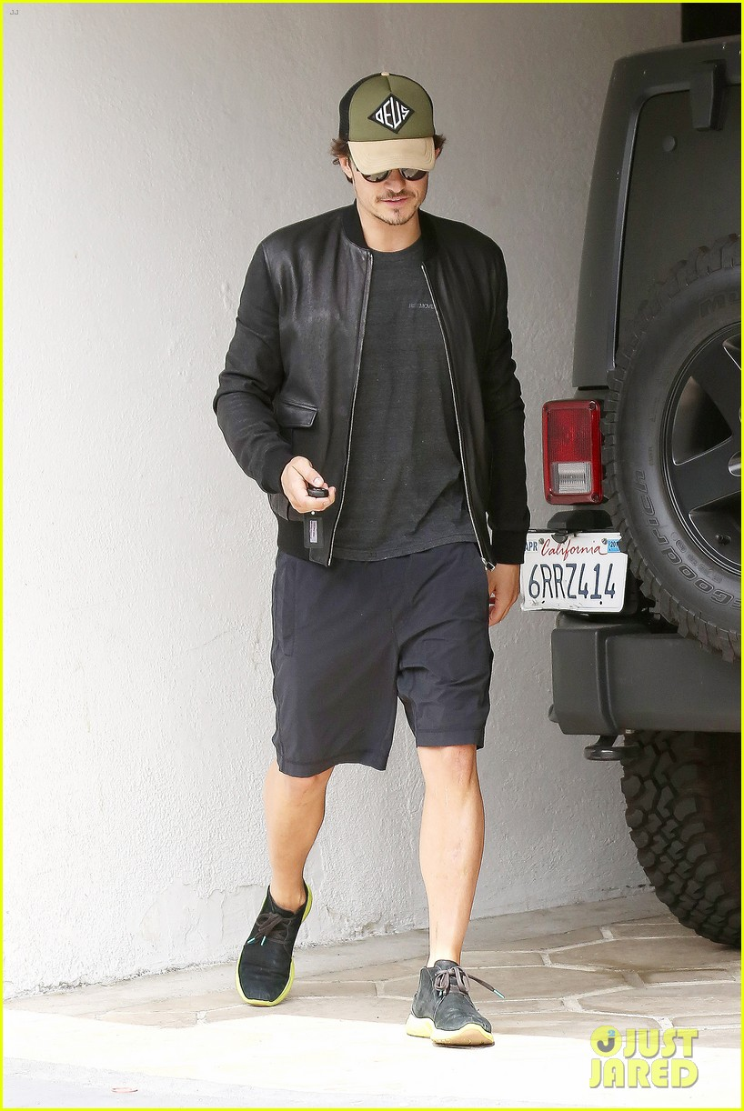 orlando bloom weho workout 092843329