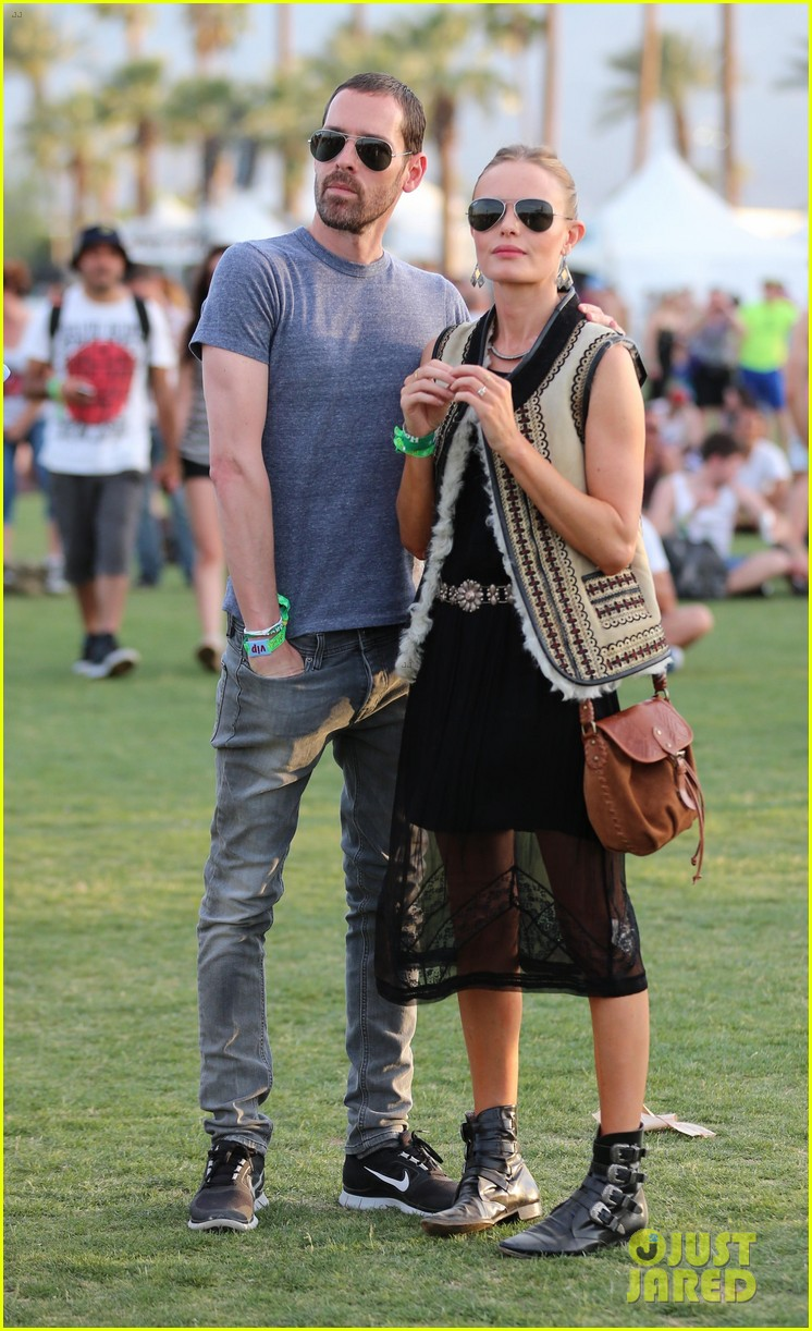 kate bosworth michael polish topshop twosome at coachella 09