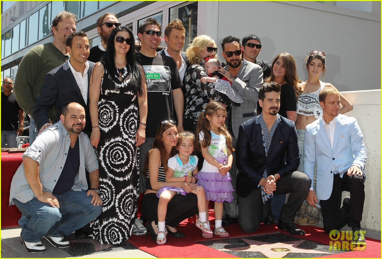 backstreet boys hollywood walk of fame ceremony 03