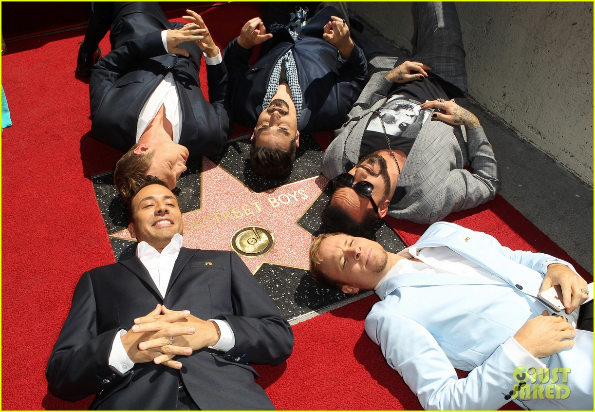 backstreet boys hollywood walk of fame ceremony 05