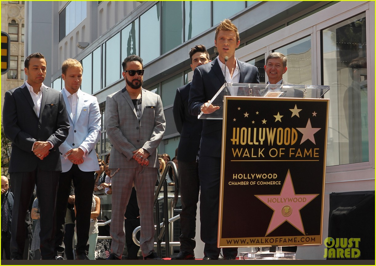 backstreet boys hollywood walk of fame ceremony 09