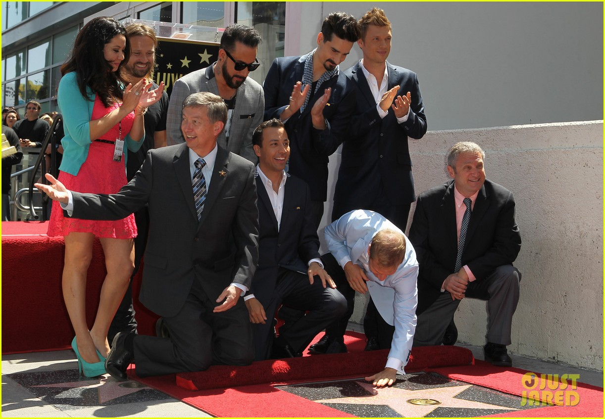 backstreet boys hollywood walk of fame ceremony 112855896
