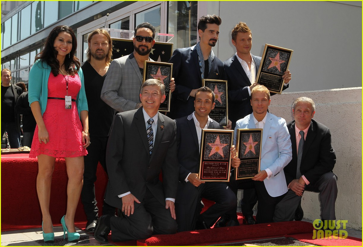 backstreet boys hollywood walk of fame ceremony 122855897