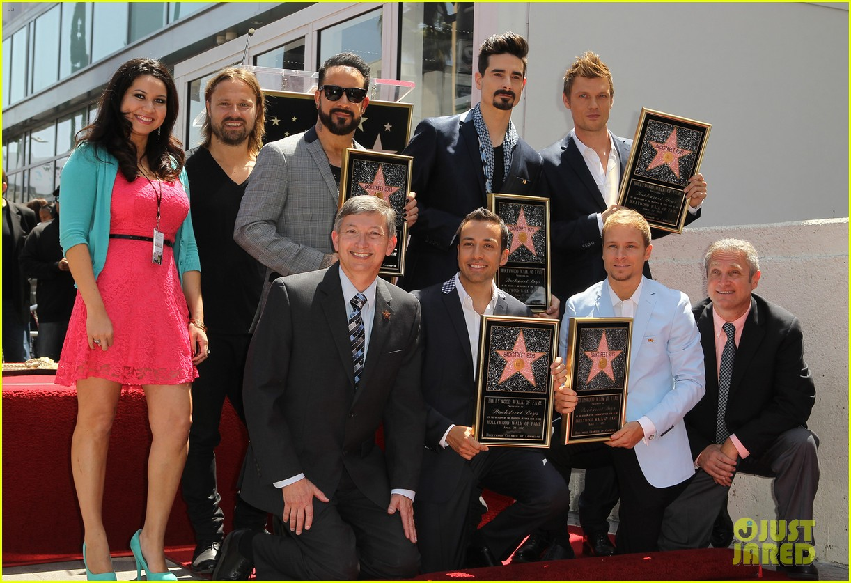 backstreet boys hollywood walk of fame ceremony 132855898