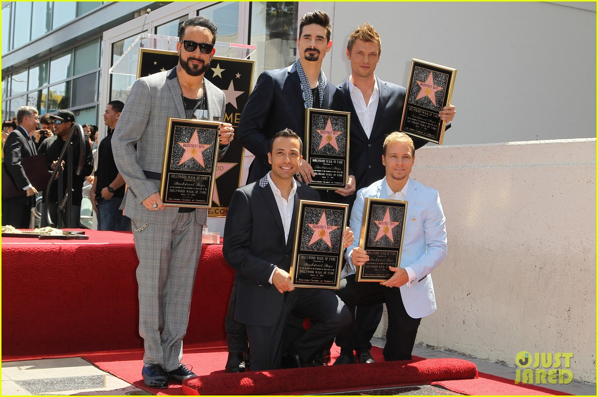 backstreet boys hollywood walk of fame ceremony 14