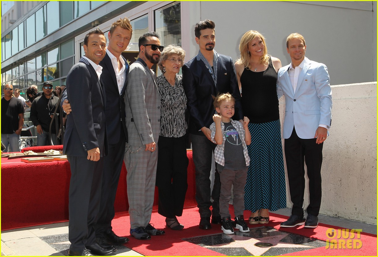 backstreet boys hollywood walk of fame ceremony 22