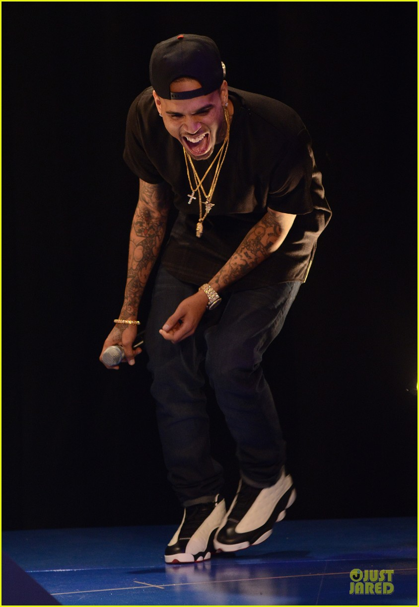 chris brown fine china promotion on 106 park 03