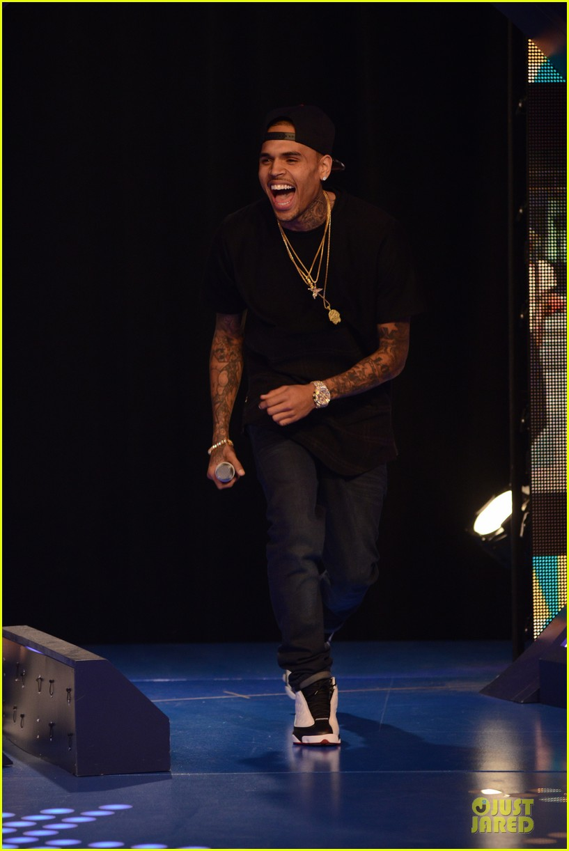 chris brown fine china promotion on 106 park 06