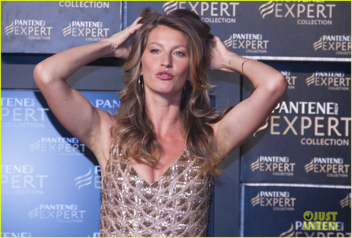gisele bundchen pantene expert photo call 08