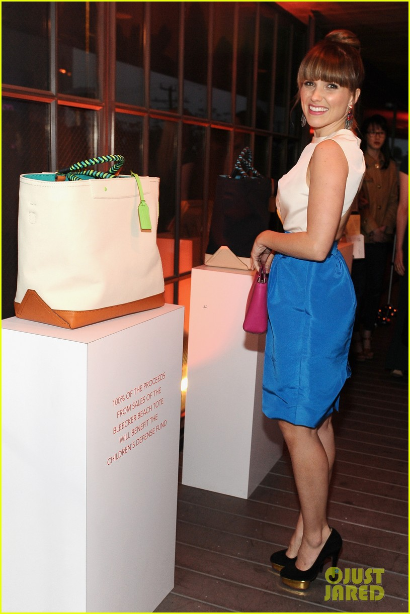 sophia bush georgia king coach night of shopping 062847455