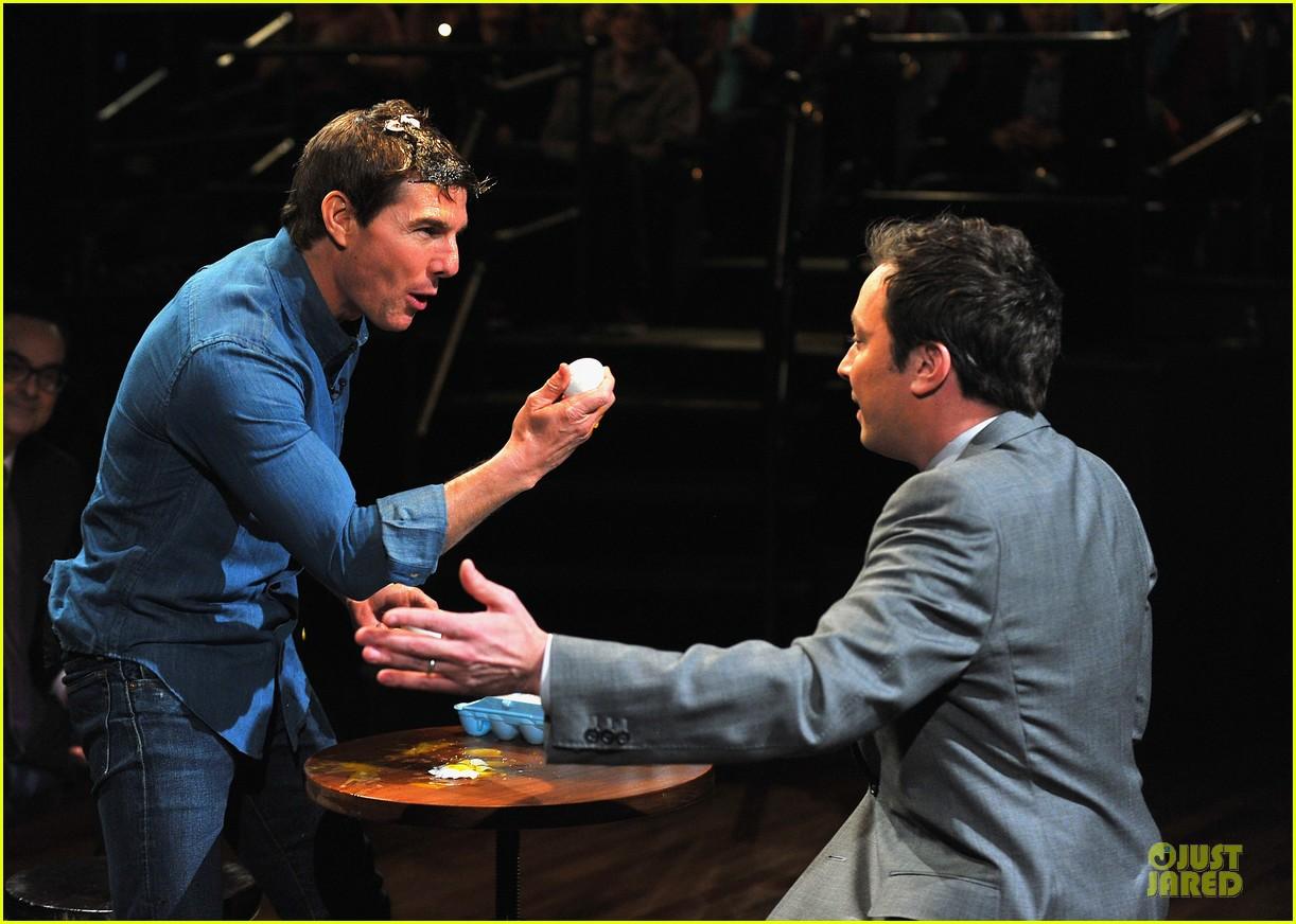 tom cruise egg roulette on fallon 072848517