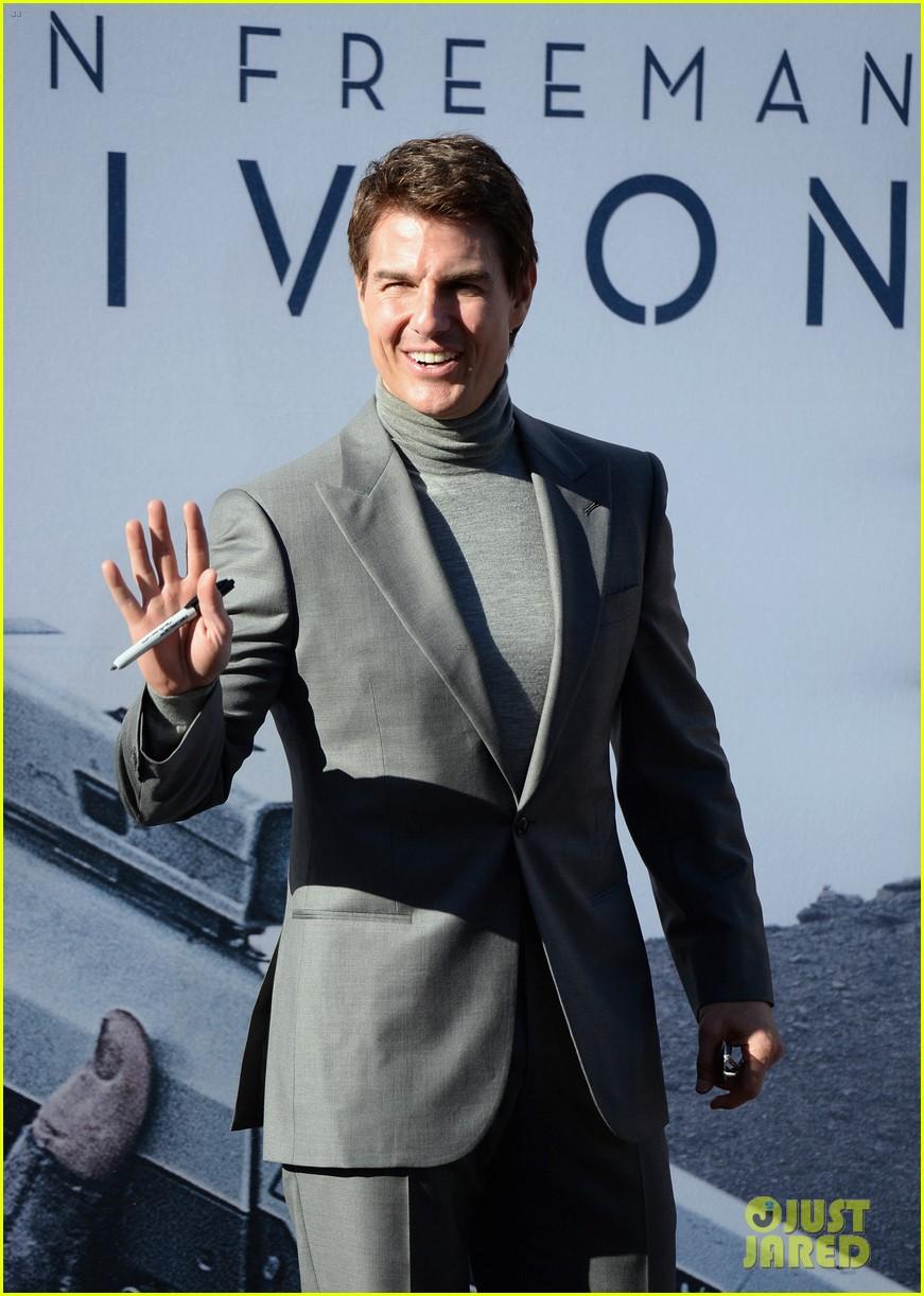 tom cruise olga kurylenko oblivion hollywood premiere 15