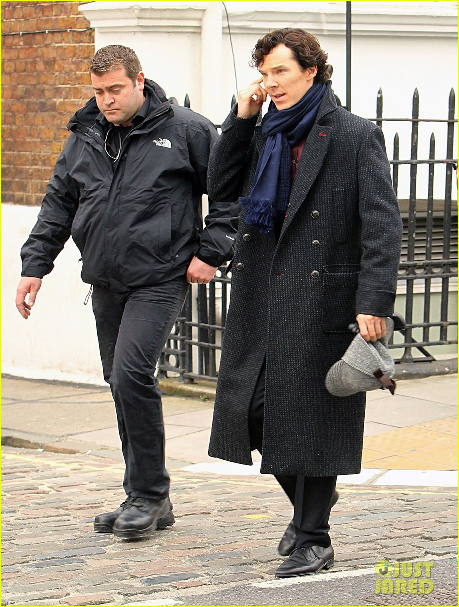 benedict cumberbatch sherlock set with martin freeman 19
