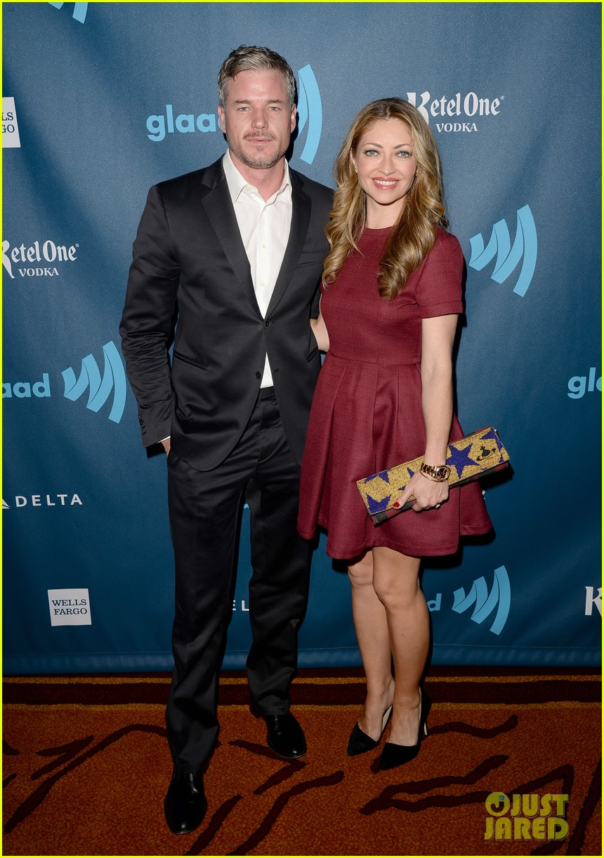 eric dane rebecca gayheart glaad media awards 2013 132854554