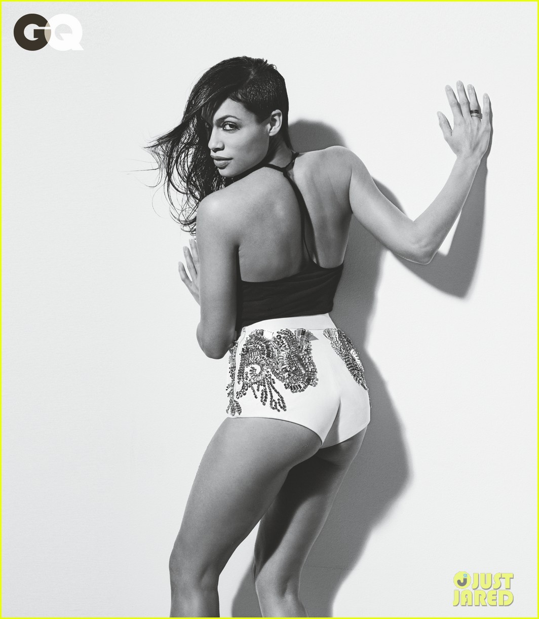 rosario dawson short shorts for gq feature 012852029