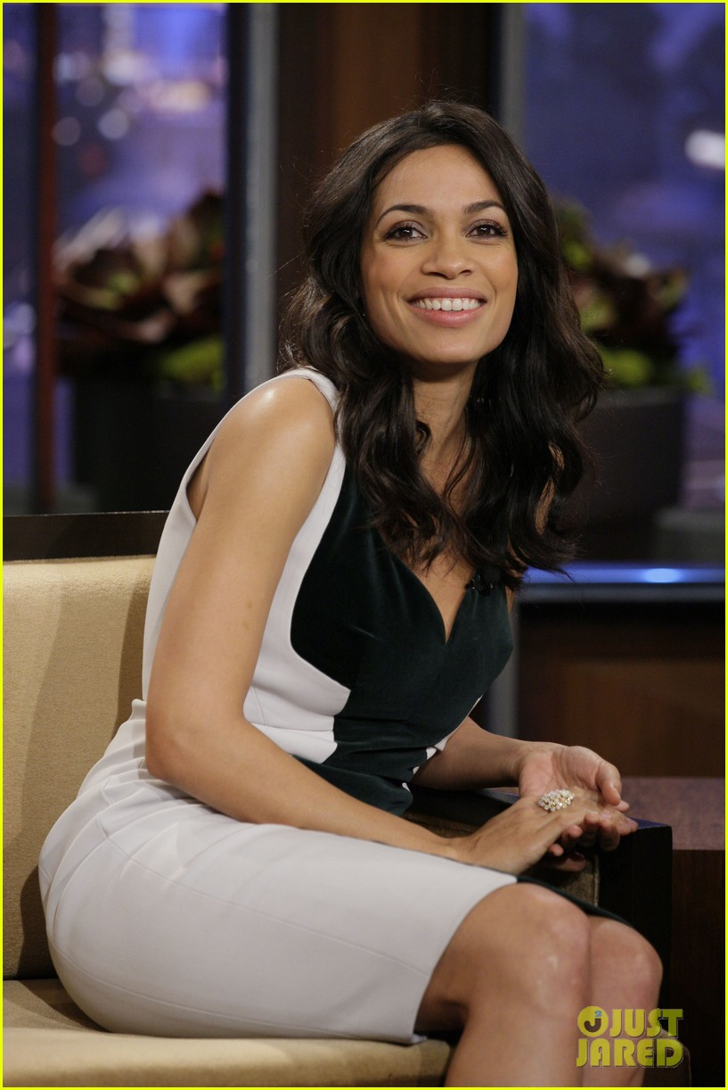 rosario dawson tonight show with jay leno visit 02