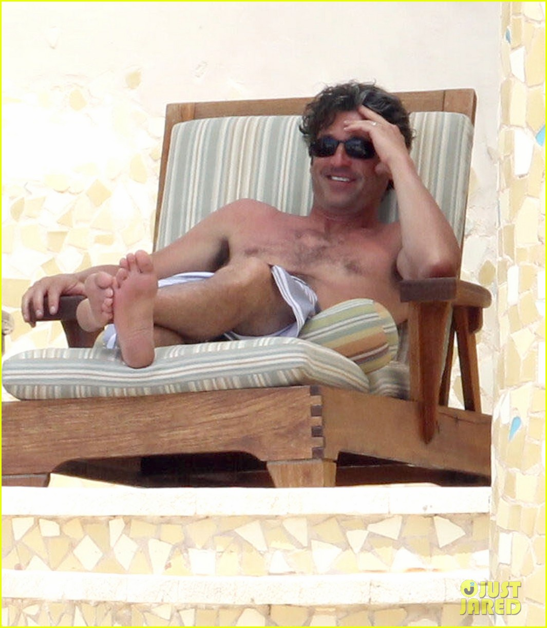patrick dempsey shirtless mexico vacation with the family 082841324