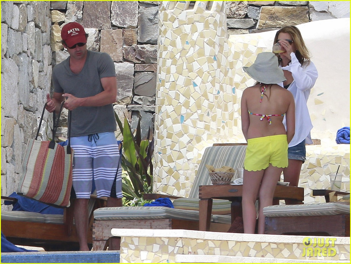 patrick dempsey shirtless mexico vacation with the family 25