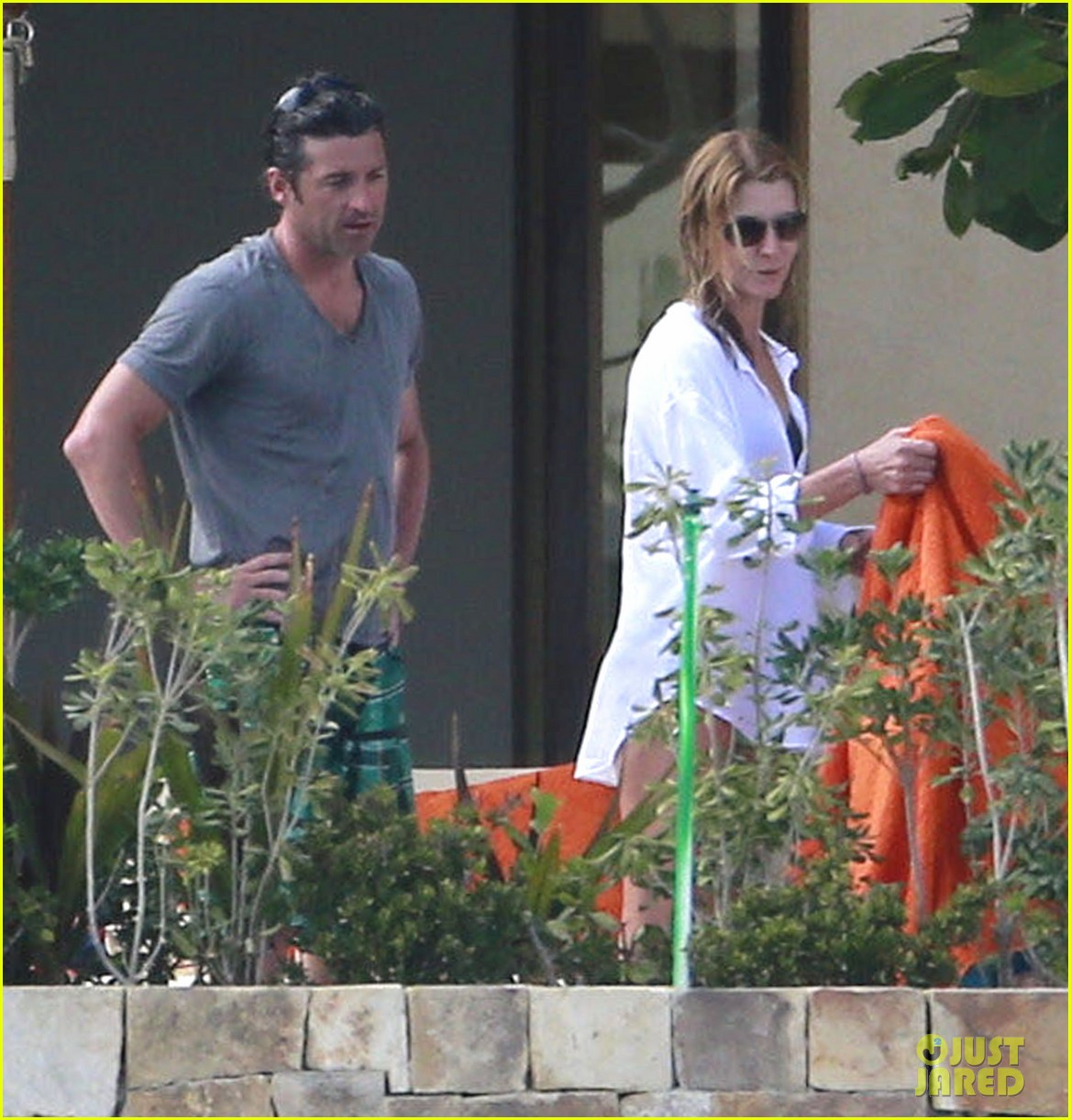patrick dempsey shirtless mexico vacation with the family 27