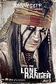 johnny depp lone ranger final trailer character posters 05
