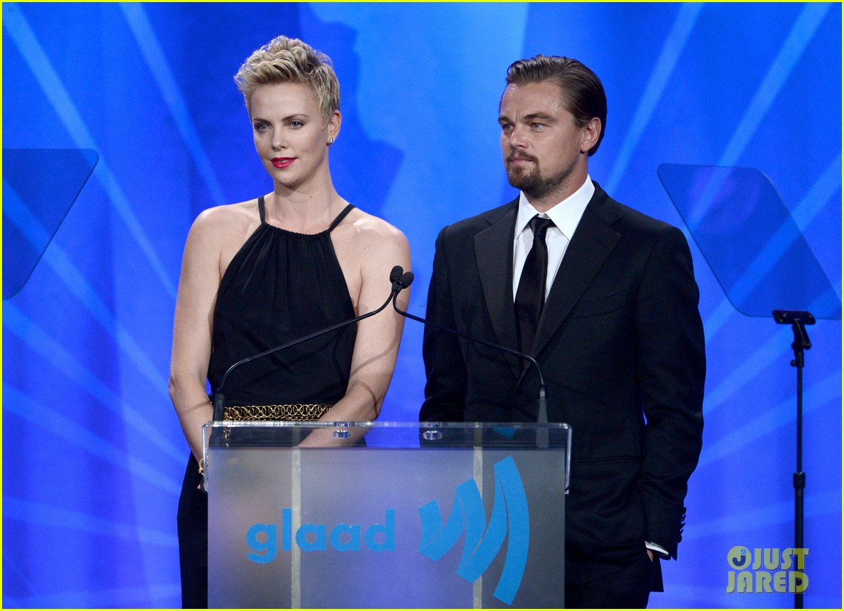 leonardo dicaprio tobey maguire glaad media awards 2013 022854498