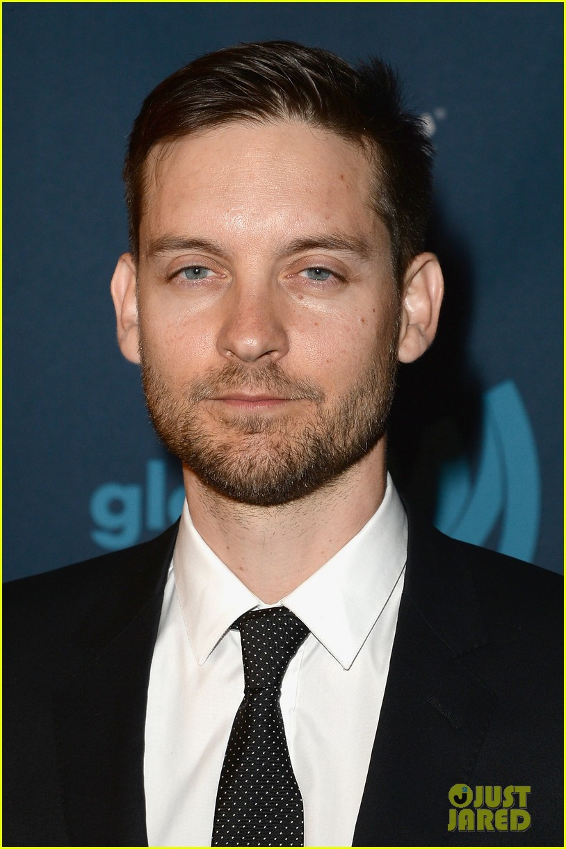 leonardo dicaprio tobey maguire glaad media awards 2013 14