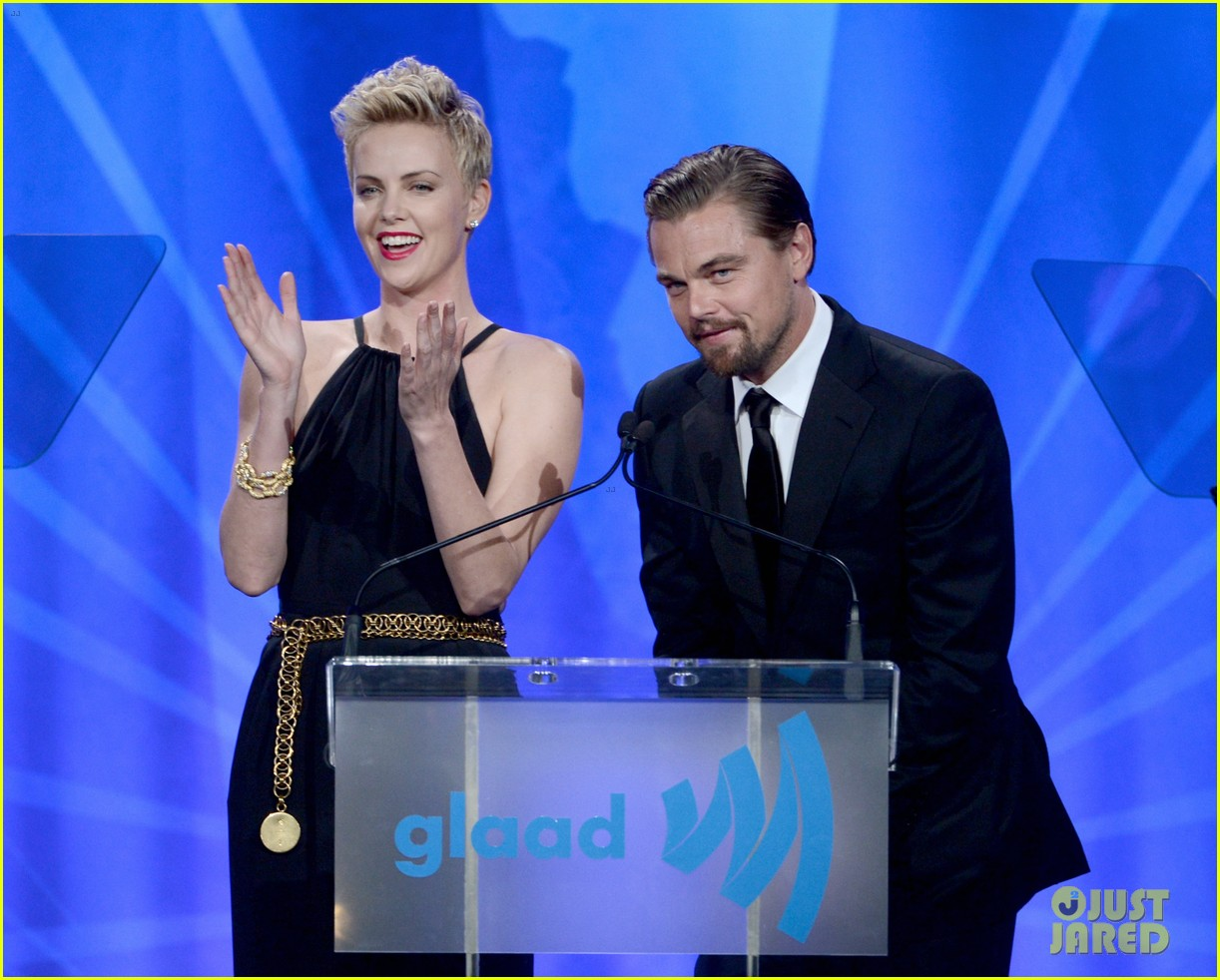 leonardo dicaprio tobey maguire glaad media awards 2013 19