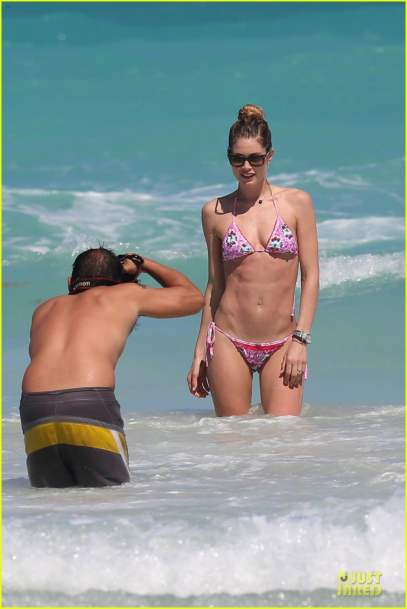 doutzen kroes bikini photo shoot with sunnery james 222860953