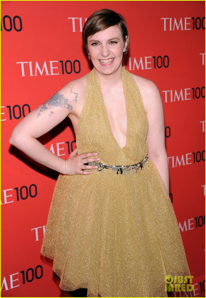 lena dunham claire danes time 100 gala 2013 11