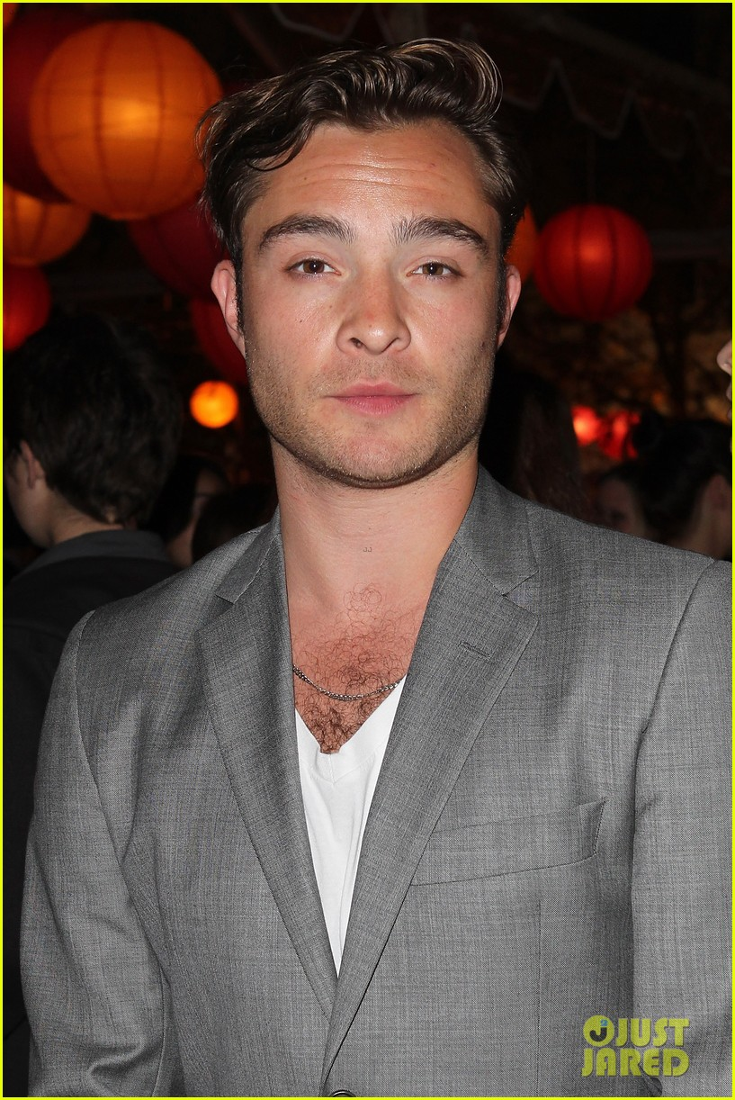ed westwick jessica szohr city year los angeles fundraiser 2013 072854724