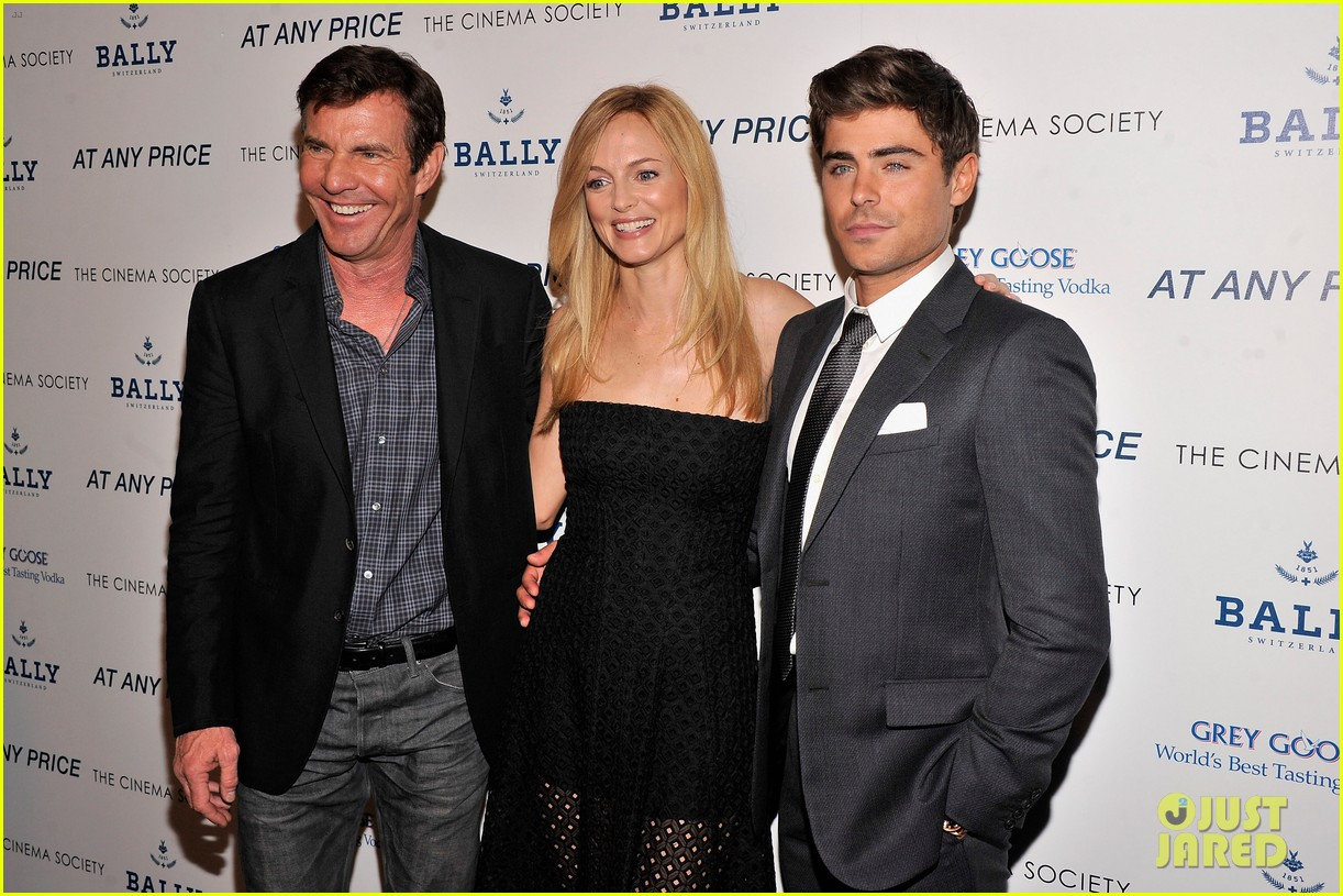 zac efron heather graham at any price nyc premiere 122853031