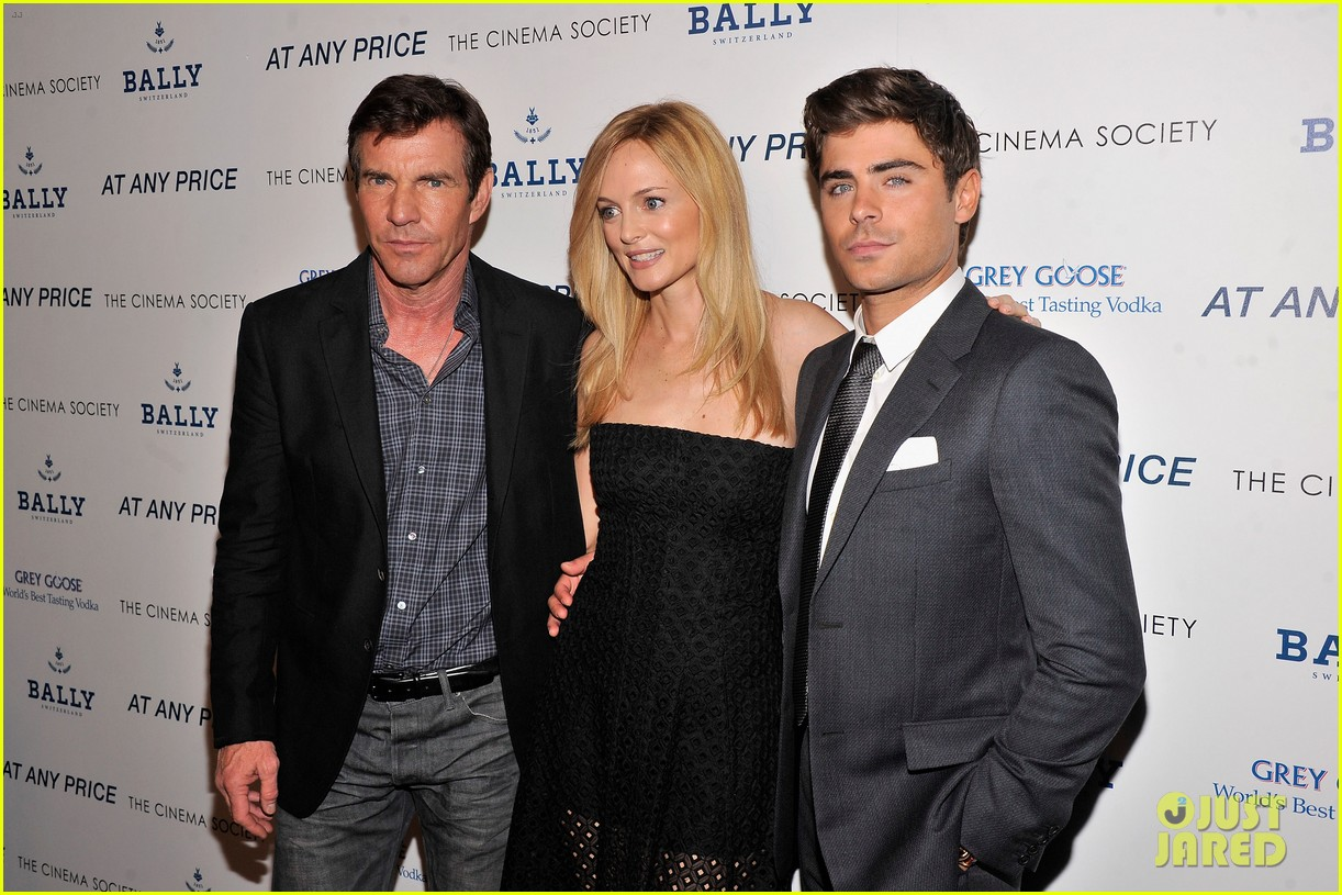 zac efron heather graham at any price nyc premiere 132853032