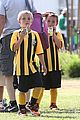 kevin federline cheers sean preston jayden james soccer games 05
