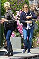jodie foster lemonade cafe with gal pal 01