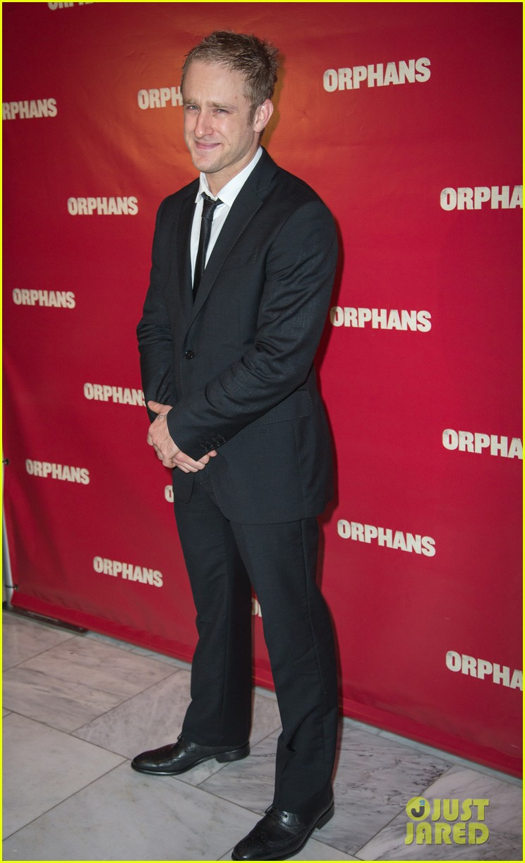 ben foster tom sturridge orphans broadway opening 10